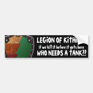 LOK Slogan Sticker Bumper Sticker