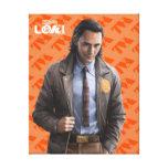 Loki Character Art Canvas Print