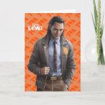 Loki Character Art Card