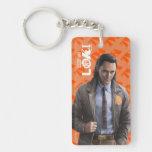 Loki Character Art Keychain