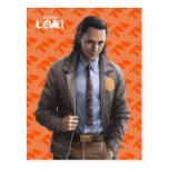Loki Character Art Postcard