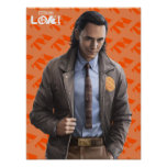 Loki Character Art Poster