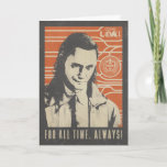Loki - For All Time. Always! Card