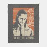 Loki - For All Time. Always! Fleece Blanket