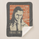 Loki - For All Time. Always! Sherpa Blanket