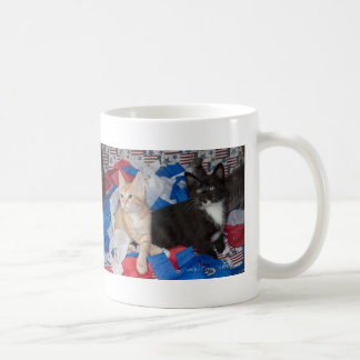 Loki & His Brother in Red, White, & Blue Classic White Coffee Mug
