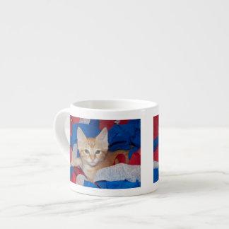 Loki in Red, White & Blue Espresso Cup