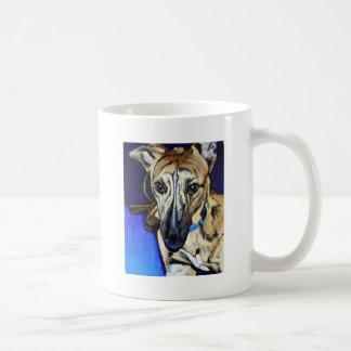 Loki - Lurcher dog Coffee Mug