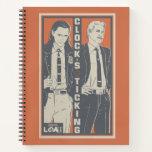 Loki & Mobius - Clock's Ticking Notebook