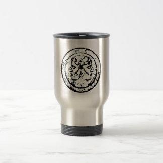 Loki of scarf-learn, Filii Iani coat of arms Travel Mug