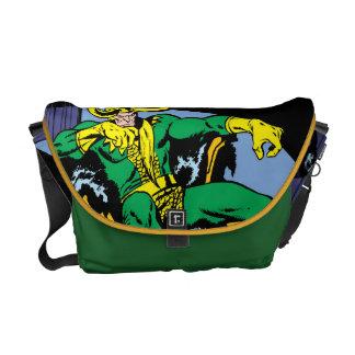 Loki que se sienta en el trono bolsas de mensajeria