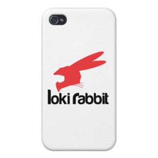 Loki Rabbit iPhone 4 Cases