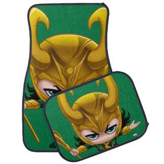 Loki Stylized Art Car Floor Mat