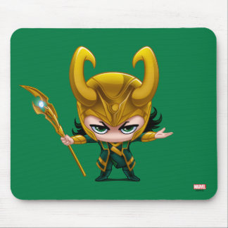 Loki Stylized Art Mouse Pad