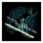 Loki - The Timeline Wants To Break Free Poster