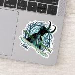 Loki - The Timeline Wants To Break Free Sticker