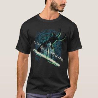 Loki - The Timeline Wants To Break Free T-Shirt
