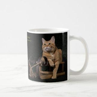 "Loki with his ""Rosebud"" Coffee Mug"