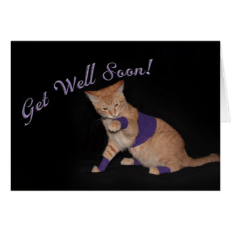 Loki's Get Well Wishes Greeting Card