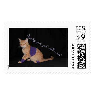 Loki's Get Well Wishes Postage Stamps