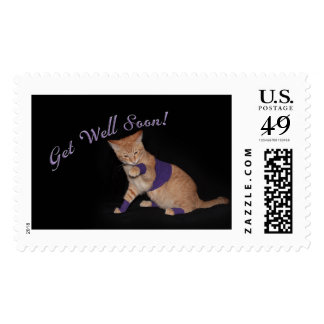 Loki's Get Well Wishes Postage Stamp