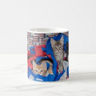 Loki's Litter in Red, White, & Blue Mug