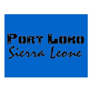 Loko de encargo del puerto de Africankoko, Sierra Postal