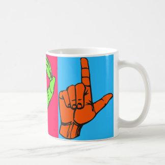 LOL ASL Sign Language Design #2 Coffee Mug
