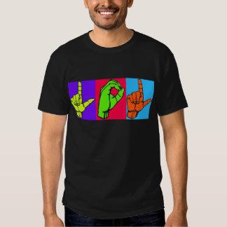 LOL ASL Sign Language Design #2 Shirt