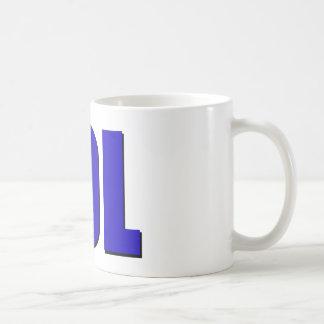 LOL blue Classic White Coffee Mug