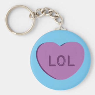 LOL Candy Heart Key Chains