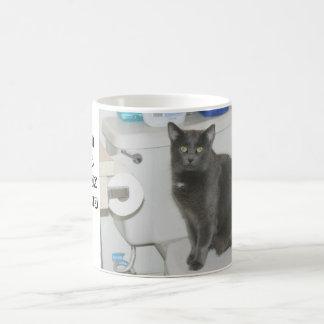 lol cat classic white coffee mug