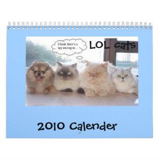 LOL Cats Calender Calendar