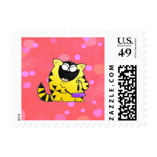 LOL Cats Chef Postage