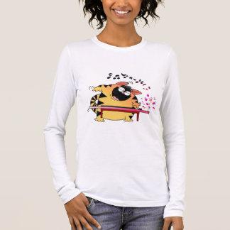 LOL Cats | Fat Musical Cat Long Sleeve T-Shirt
