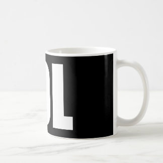 LOL (dark) Classic White Coffee Mug