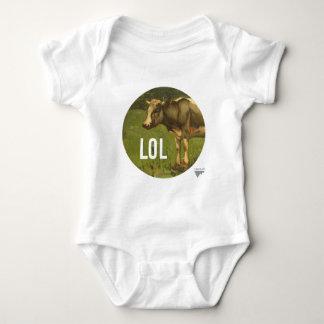 LOL dice la vaca - subtítulos del arte de Trendium Body Para Bebé
