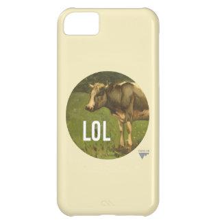 LOL dice la vaca - subtítulos del arte de Trendium Funda Para iPhone 5C