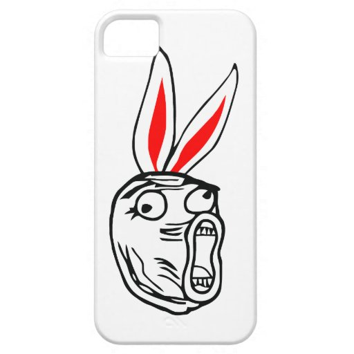 LOL - Easter Bunny edition internet meme iPhone 5 Cover