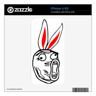 LOL - Easter Bunny edition internet meme Skins For The iPhone 4