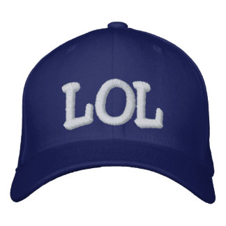 LOL EMBROIDERED BASEBALL CAP