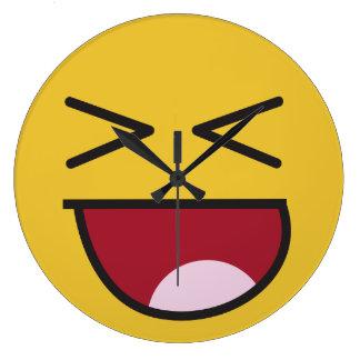 lol. emoji large clock