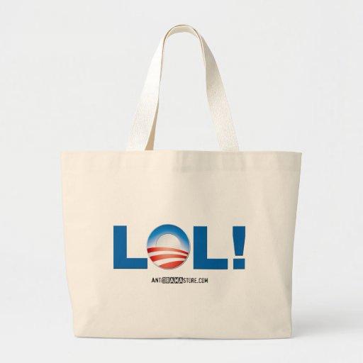 LOL en Obama Bolsas De Mano