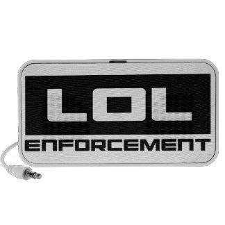 LOL Enforcement Speaker