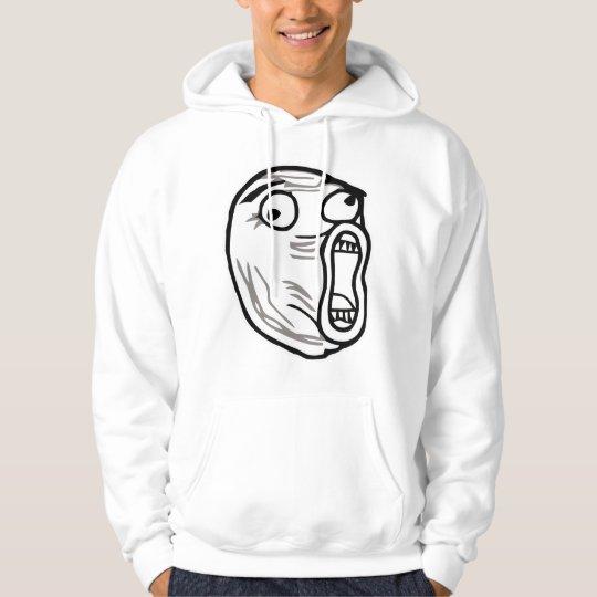 lol face meme humor rofl omg omfg hoodie