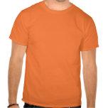 lol. fame (dark orange on safety orange) tshirt