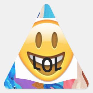 LOL Feather Triangle Sticker