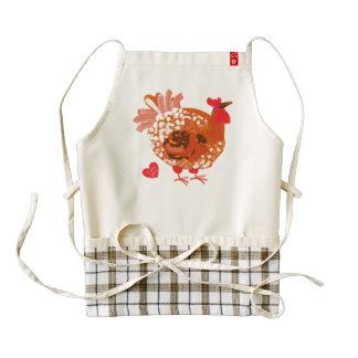 lol Funny anti-Valentine's Day apron