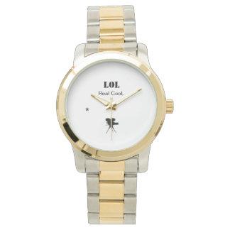 LOL Gold Star Watch