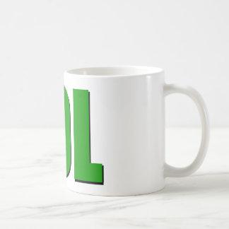 LOL green Classic White Coffee Mug
